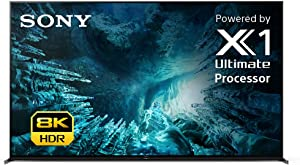 Sony Z8H 85 Inch TV: 8K Ultra HD Smart LED TV with HDR and Alexa Compatibility - 2020 Model