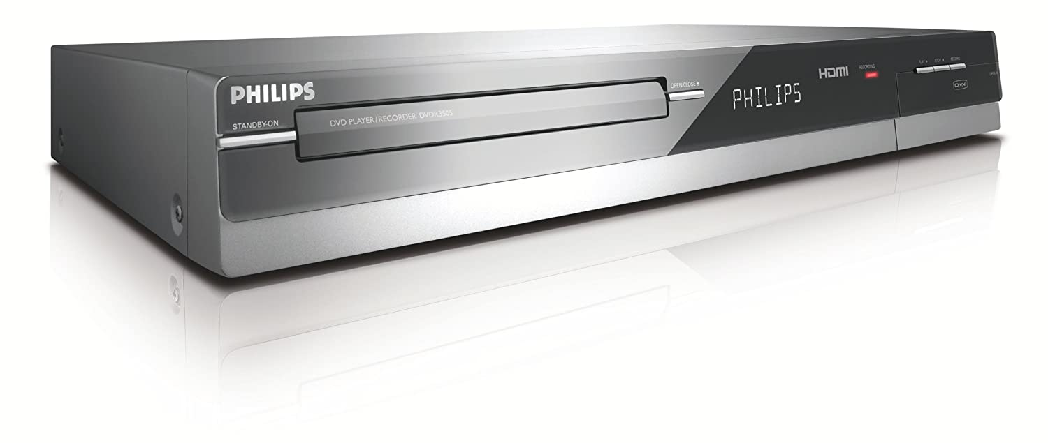 amazon com philips dvdr3505 37 1080i upscaling dvd recorder with rh amazon com Philips DVD Recorder Hard Drive Philips DVD Recorder Walmart