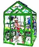 Cheap Ogrow Kid's My First Greenhouse Walk-In 3 Tier 12 Shelf Greenhouse