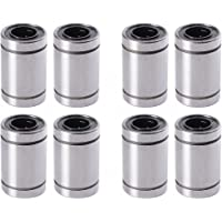 Aarya 3D 8 Pieces Lm8Uu 8 mm Linear Ball Bearing for 3D Printer Reprap Prusa Cnc Parts