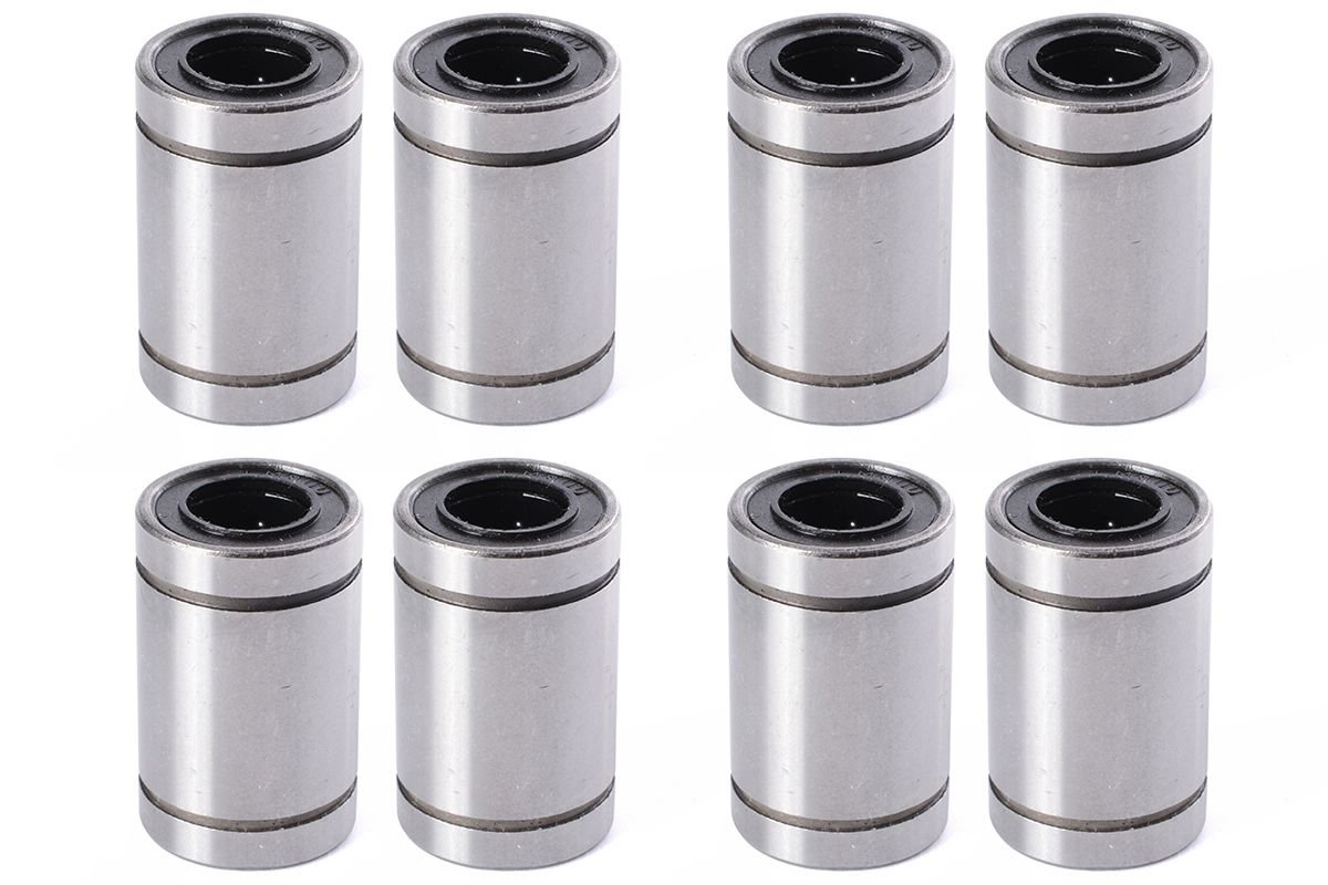 Aarya 3D 8 Pieces Lm8Uu 8 mm Linear Ball Bearing for 3D Printer Reprap Prusa Cnc Parts product image