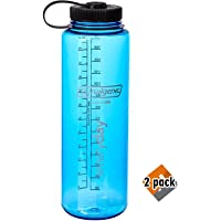Nalgene HDPE 48oz Silo Wide Mouth BPA-Free Water Bottle