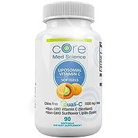 Core Med Liposomal Vitamin C Softgels 1000mg/dose - Quali®-C Vitamin C (Scotland...