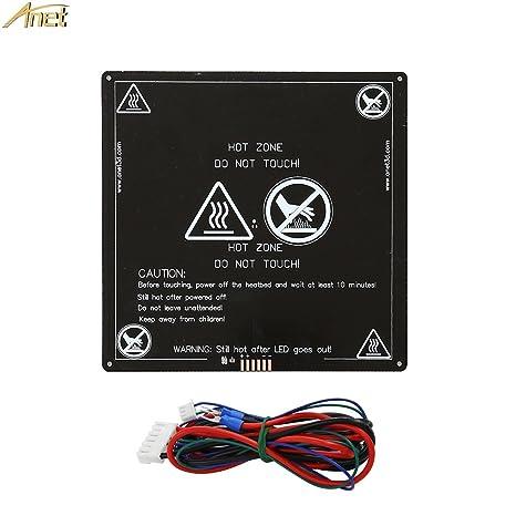 MK3 220x220 Aluminum Heatbed Heated Hot Bed Anet A8 A6 A2 3D Printer Prusa I3 US