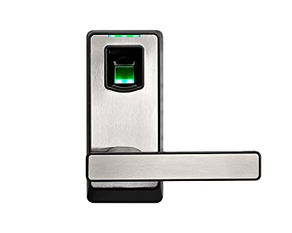 ZKTeco Electronic Smart Lock Biometric Fingerprint Door Lock with Bluetooth Keyless Home Entry with Your Smartphone/Fingerprint Locks for Bedroom at amazon