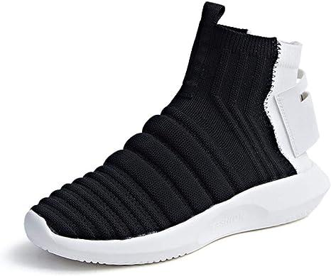 Lucdespo Señoras Zapatos Casuales Calcetines elásticos Botas Botas Cortas de Punto Zapatos Deportivos de Estilo de Moda Zapatos para Correr Zapatos para Correr.: Amazon.es: Deportes y aire libre