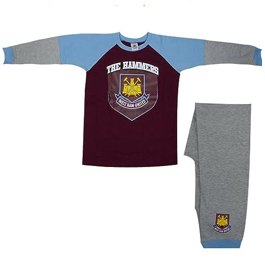 Football West Ham United The Hammers Boys 100% Cotton Pyjama Set (6