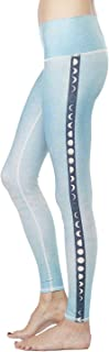 product image for Teeki Women's Leggings or Hot Pants, Blue Moon Pattern
