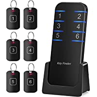 Key Finder, Stick on Remote Finder Locator | 6 Pack Key Finders That Make Noise, 95dB Beeper RF… photo