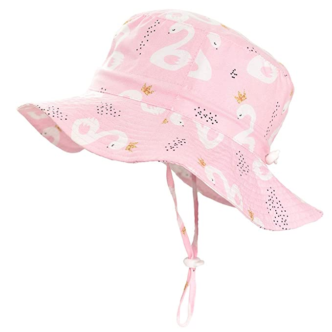 554243435a4fd Image Unavailable. Image not available for. Color: SOMALER Sun Bucket Hats  for Kids Boys Girls UV UPF 50+ Sun Protection ...