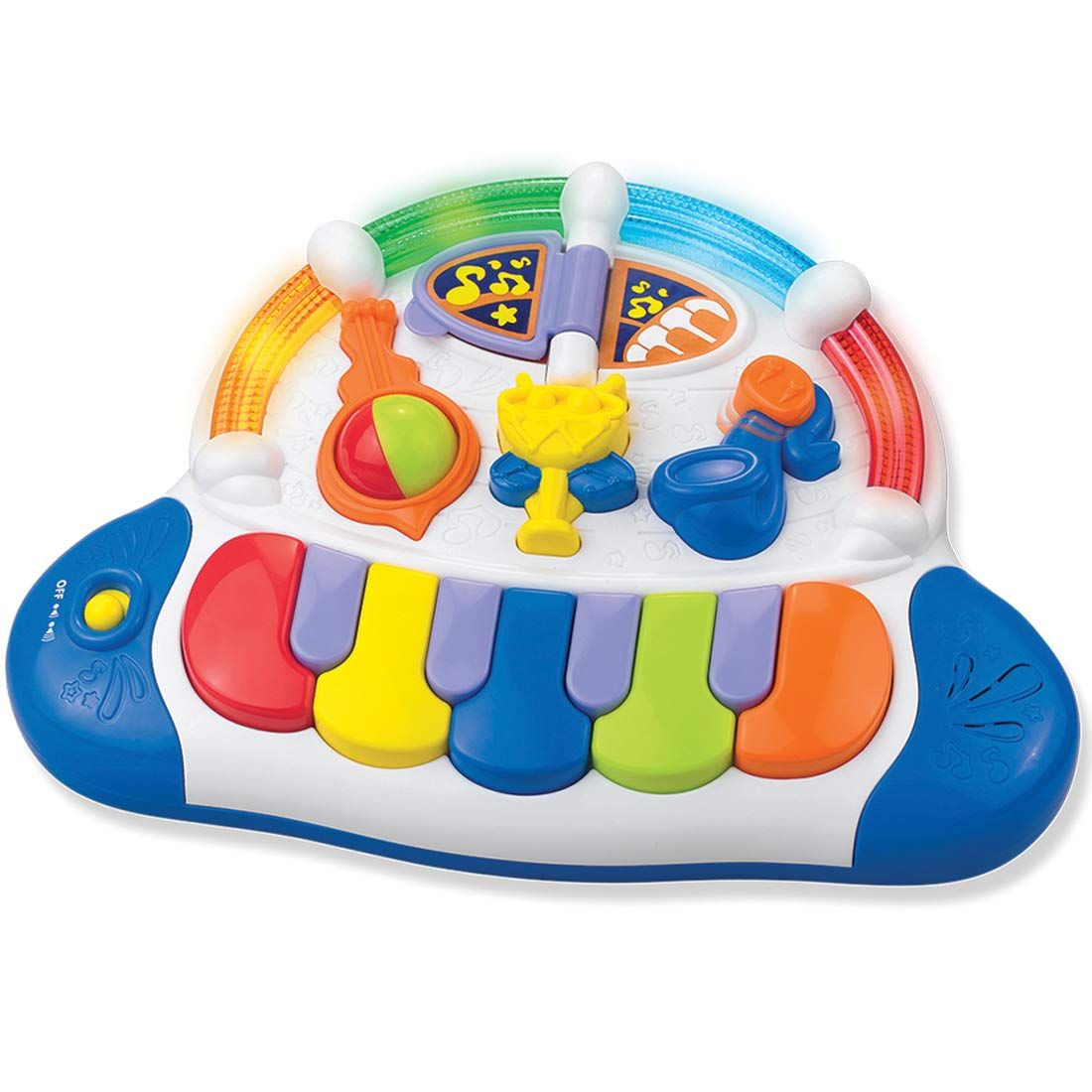 Partner Jouet - HKT3857T - Jeu éducatif premier âge - Activité d'éveil - Piano W01/3857T