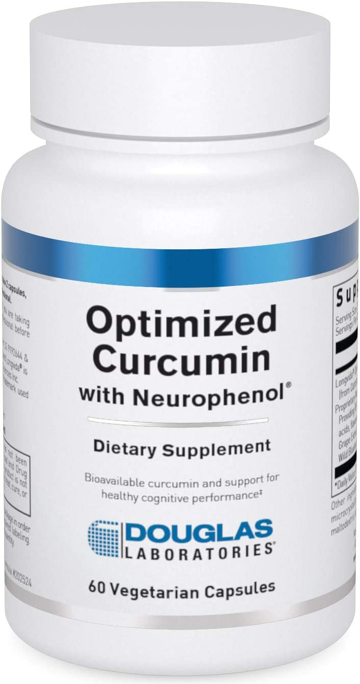 Douglas Laboratories - Optimized Curcumin with Neurophenol - Supports a Healthy Brain - 60 Capsules