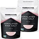 Terrasoul Superfoods Himalayan Pink Salt, 5 Lbs (2 Pack) - Extra Fine Grind | Trace Minerals