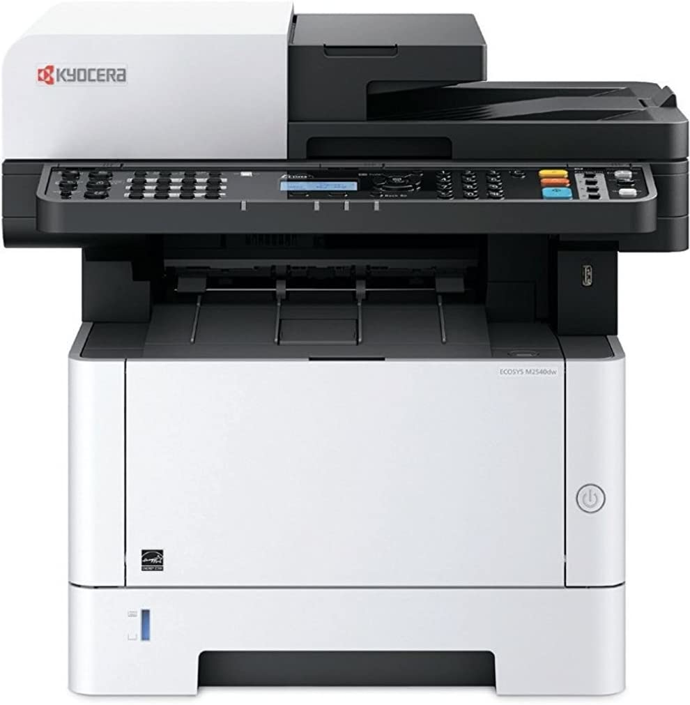 Kyocera 1102S42US0 ECOSYS M2540dw Black & White Multifunctional Laser Printer (Print / Color Scan / Copy / Fax), 42 PPM, Print Resolution 600 x 600 ...