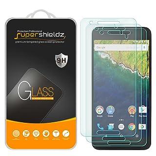 [3-Pack] Supershieldz for Huawei (Google) Nexus 6P Tempered Glass Screen Protector, Anti-Scratch, Anti-Fingerprint, Bubble Free, Lifetime Replacement Warranty