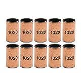 Nrthtri smt 10pcs Ball Bearing Bushing Copper Alloy Bearing Bushing 10x12x20mm