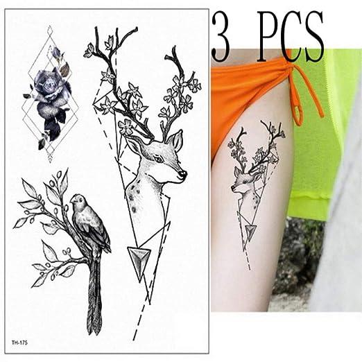 Handaxian 3 Piezas Tatuaje y Arte Corporal Mujer guerrera con ...