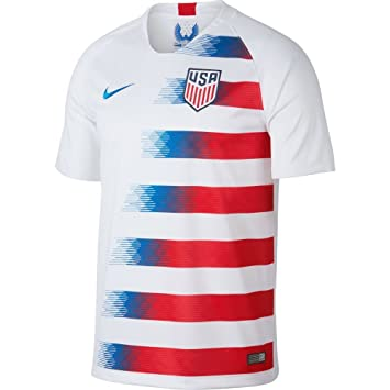 Nike 2018 2019 Usa Home Football Soccer T Shirt Amazon Co Uk