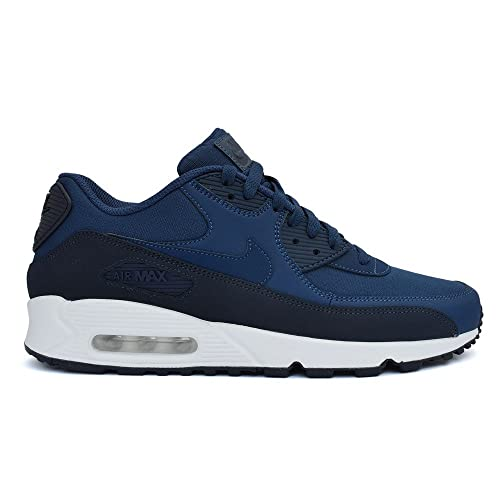 buy popular 0b20b 47056 Nike Air Max 90 Essential, Zapatillas Hombre, Gris (Obsidiannavywhite 427),  40 EU  Amazon.es  Zapatos y complementos