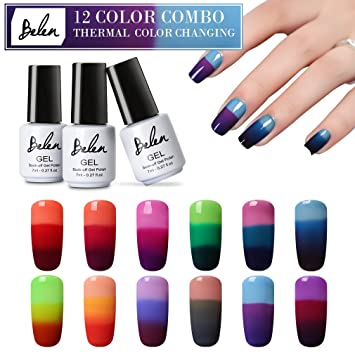 Amazon Nail Polish Color Changing Gel Nail Polish Soak Off