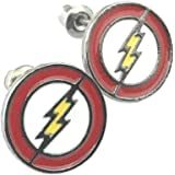 The Flash DC Comics Stud Earrings With Gift Box from Outlander Gear