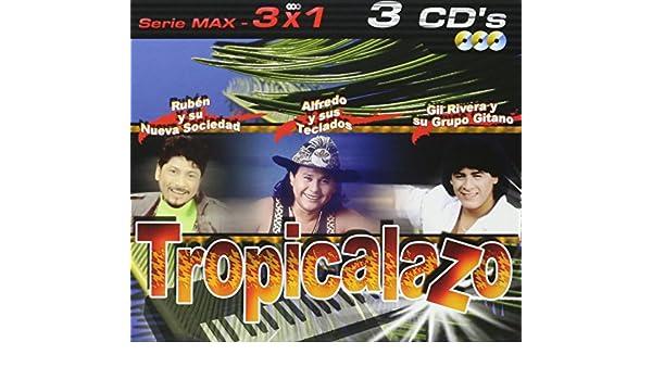 Tropicalazo:Serie Max 3x1: Alfredo Y Teclados, Gil Rivera: Amazon ...