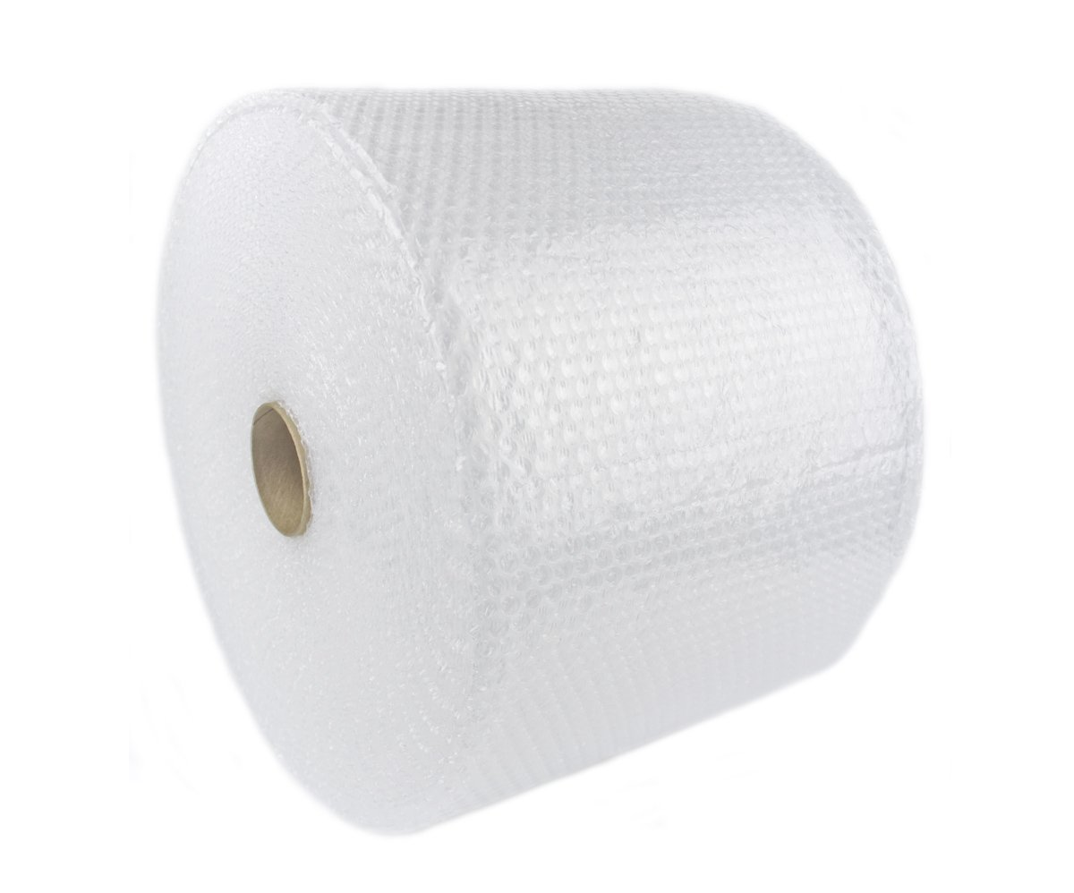 "WLPackaging 3/16 350 ft x 24"" Small Nylon Bubble Cushioning Wrap, Perforated Every 12"