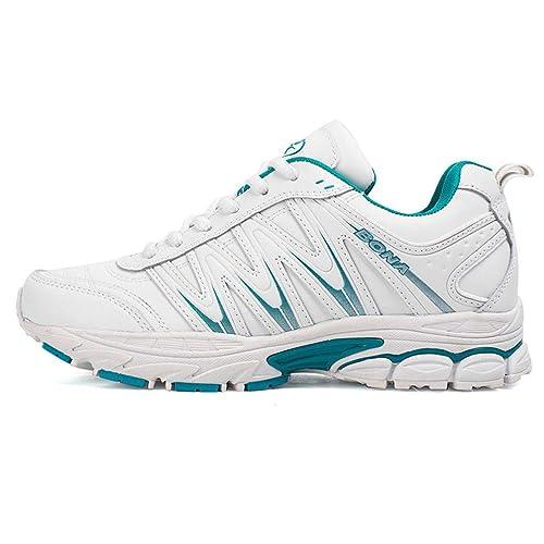 Zapatillas de Correr para Mujer Zapatos con Cordones para Caminar Zapatillas Deportivas al Aire Libre Senderismo Zapatillas Deportivas cómodas para Hombres: ...