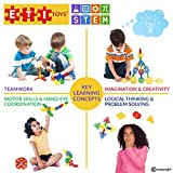 ETI Toys - Geometry Snowflakes for Boys and Girls 80 Piece Set for Making Endless Creations! Great for Learning & Developing and Having Fun Make Your Imagination Today!