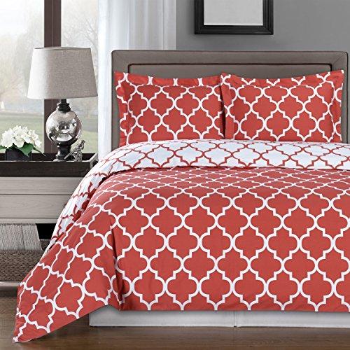 Coral Color Bedding: Amazon.com