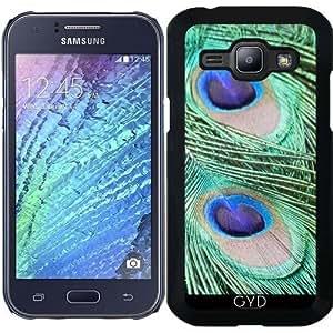 Funda para Samsung Galaxy J1 2015 (SM-J100) - Peacock_2015_0202 by JAMFoto