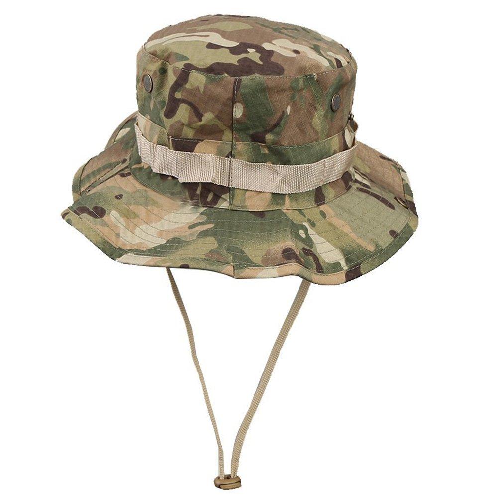 Hosaire Sombrero de Pescador Sombrero patrones de camuflaje Sombrero ...
