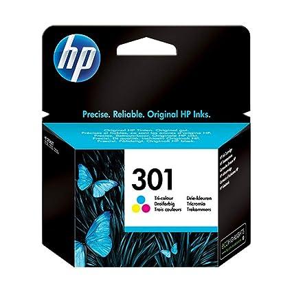 Hewlett-Packard - Juego de Cartuchos de Tinta HP 301 (2 ...