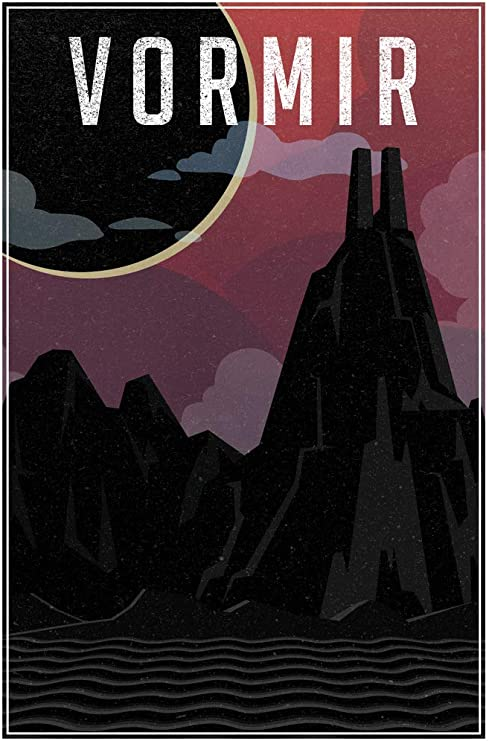 Derry Maine Fantasy Travel Poster Poster 24x36 inch