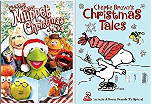 Charlie Brown's Christmas Tales Snoopy & Gang DVD + It's a Very Merry Muppet Christmas Movie Holiday Peanuts Double Feature Set