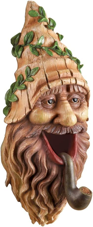 Collections Etc Tree Mounted Gnome Bird House