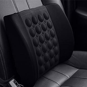 ToxTech Cojín eléctrico del masaje del coche - cojín de la parte posterior del asiento de