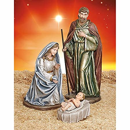 NATIVITY 4-piece Outdoor Holy Family LARGE