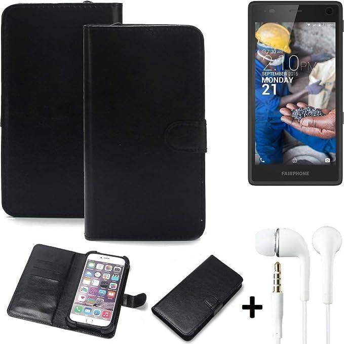 K-S-Trade® 360° Handyhülle Wallet Case Für Fairphone Fairphone 2 Schutz Hülle Smartphone Flip Cover Flipstyle Tasche Schutzhü