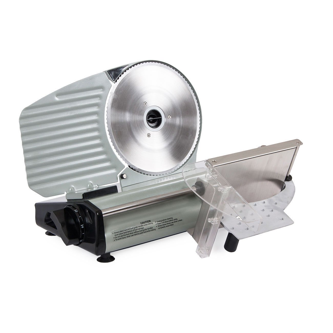 Electric Commercial Meat Slicer, Machine Food Cutting, Deli Slice Veggie Cutter Kitchen 8.7'' Blade 180W by Snow Shop Everything (Image #7)
