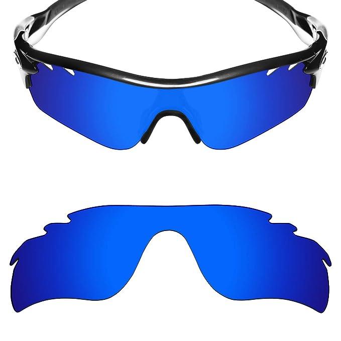 02b56dc35a MRY polarizadas lentes de repuesto para Oakley RadarLock Path Vented - Gafas  de sol Deep Blue: Amazon.es: Ropa y accesorios