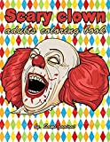 #9: Scary clown: adults coloring book