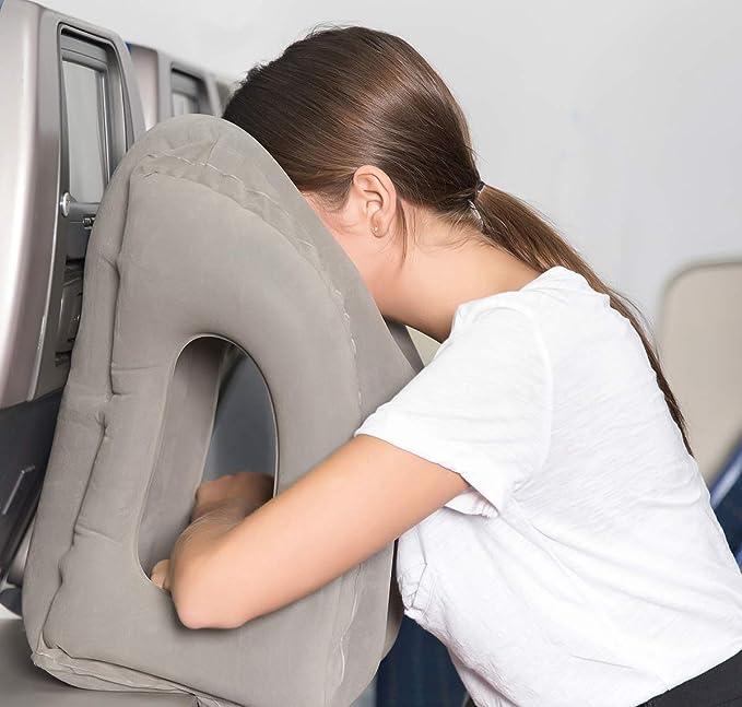 Oreiller de voyage AirGoods Coussin de Voyage /à pour les Voyages Avion Bureau Sieste