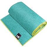 Reehut Hot Yoga Towel (72'x24') - Microfiber Bikram Towel for Workout,...
