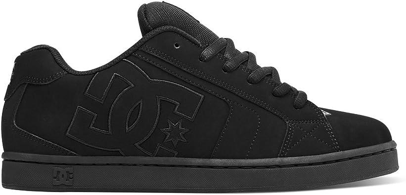DC Shoes Men/'s Net Low Top Sneaker Shoes Black Gray Blue Footwear Skateboard