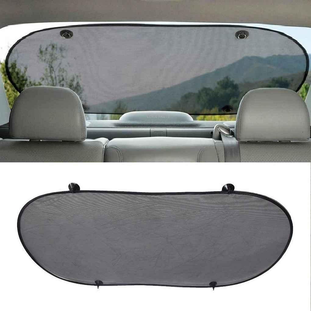 Idyandyans Auto Rear Sun Shade Vehicle Shield Visor Protection Back Car Window Shade Mesh Sunshade Screen Heat Insulation