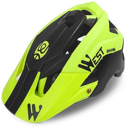 WESTGIRL - Casco de Ciclismo para Hombre y Mujer, Ajustable ...