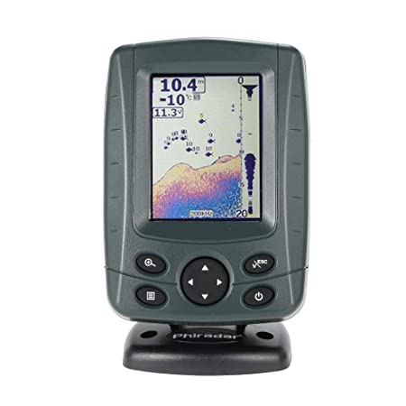 Docooler Portable 3.5 LCD Fish Finder Outdoor Sensor Fishing Finder Alarm Depth Locator