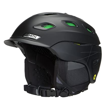 b89e1939f4 Smith Optics Unisex Adult Vantage MIPS Snow Sports Helmet - Matte Black  Small (51-