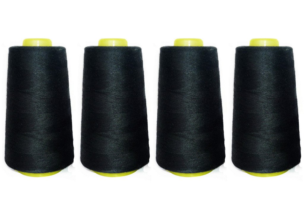 Spun Polyester Sewing Thread Tex 24 5000 Yard Spool Many Colors